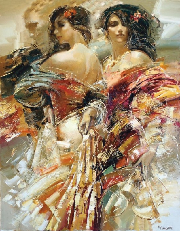 Таинственная и неуловимая, художник Roman Garassuta
