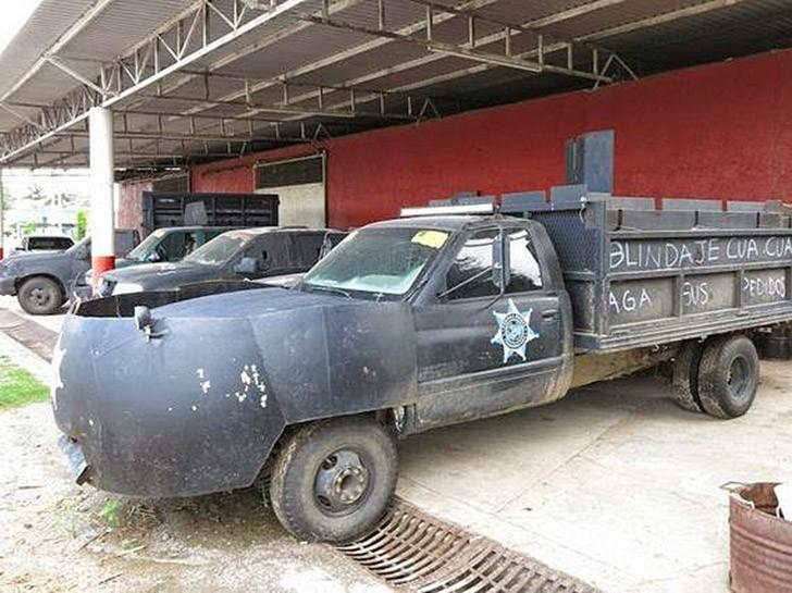 «Боевые машины» мексиканской нарковойны