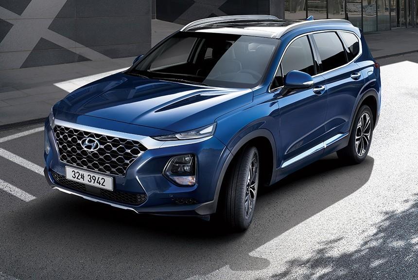 Новый кроссовер Hyundai Sant…