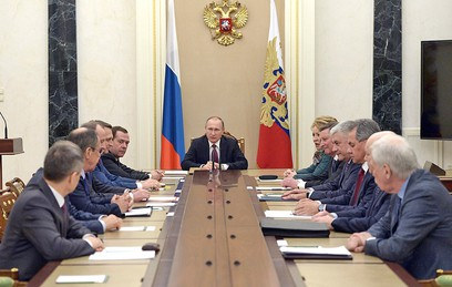Путин обсудил с Совбезом экономическую ситуацию в стране