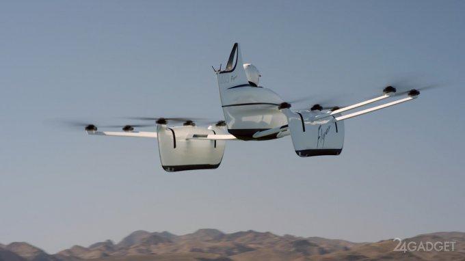 У Kitty Hawk готов пассажирский мультикоптер Flyer (8 фото + видео)