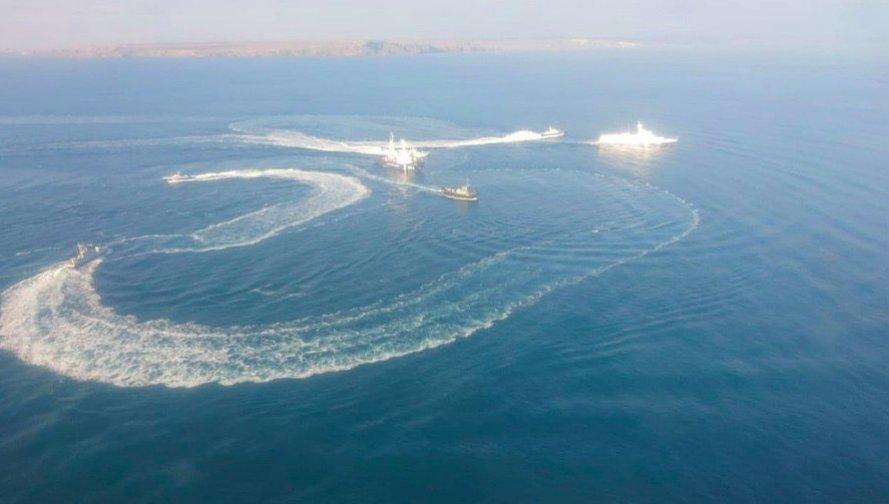 Керченский пролив закрывают