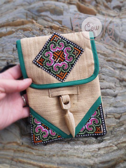Украшаем вышивкой сумочки и косметички: 60 идей для вдохновения
