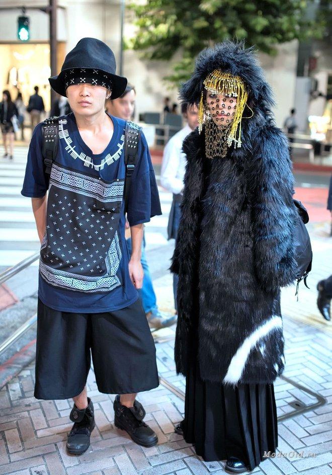 Безумная уличная мода Японии