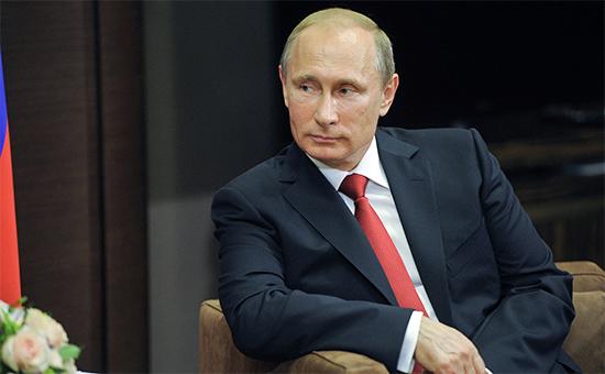 Путин назвал реакцию Запада на присоединение Крыма «неадекватной»