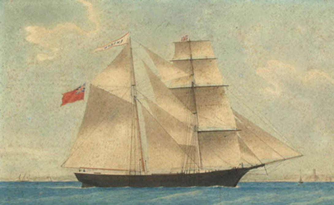 Корабли-призраки, которые до сих пор пугают моряков корабль-призрак