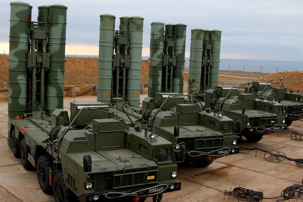 ЗРК С-400 размещены в Евпатории
