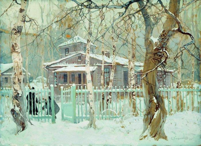 Забытое творчество талантливого художника — самобытные картины Степана Колесникова