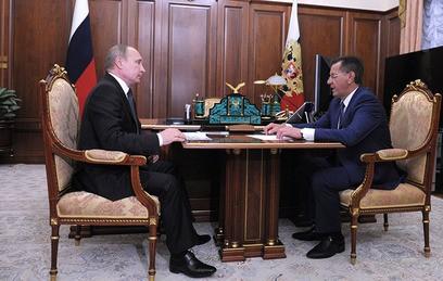 Глава Астраханской области доложил Путину о развитии региона