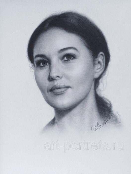 Потрясающе реалистичные портреты от Игоря Казарина... иллюстрация