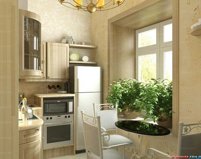 Маленькие идеи для маленькой кухни!