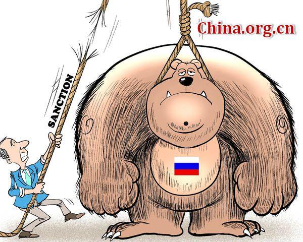 Западные карикатуристы о нас…