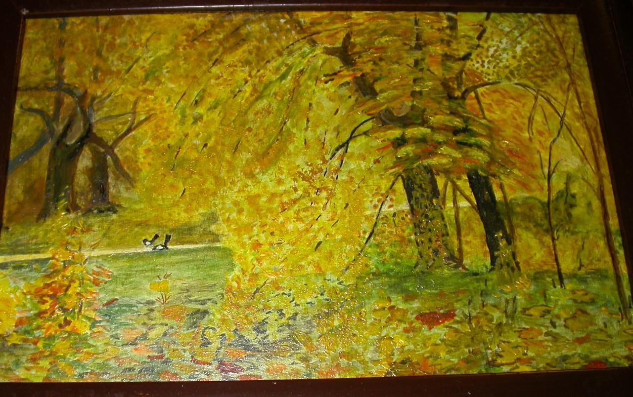 Картины моего отца Гусева А.В.
