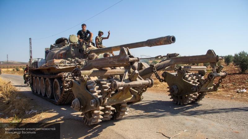 Сирийская армия начала освобождение города Кобани