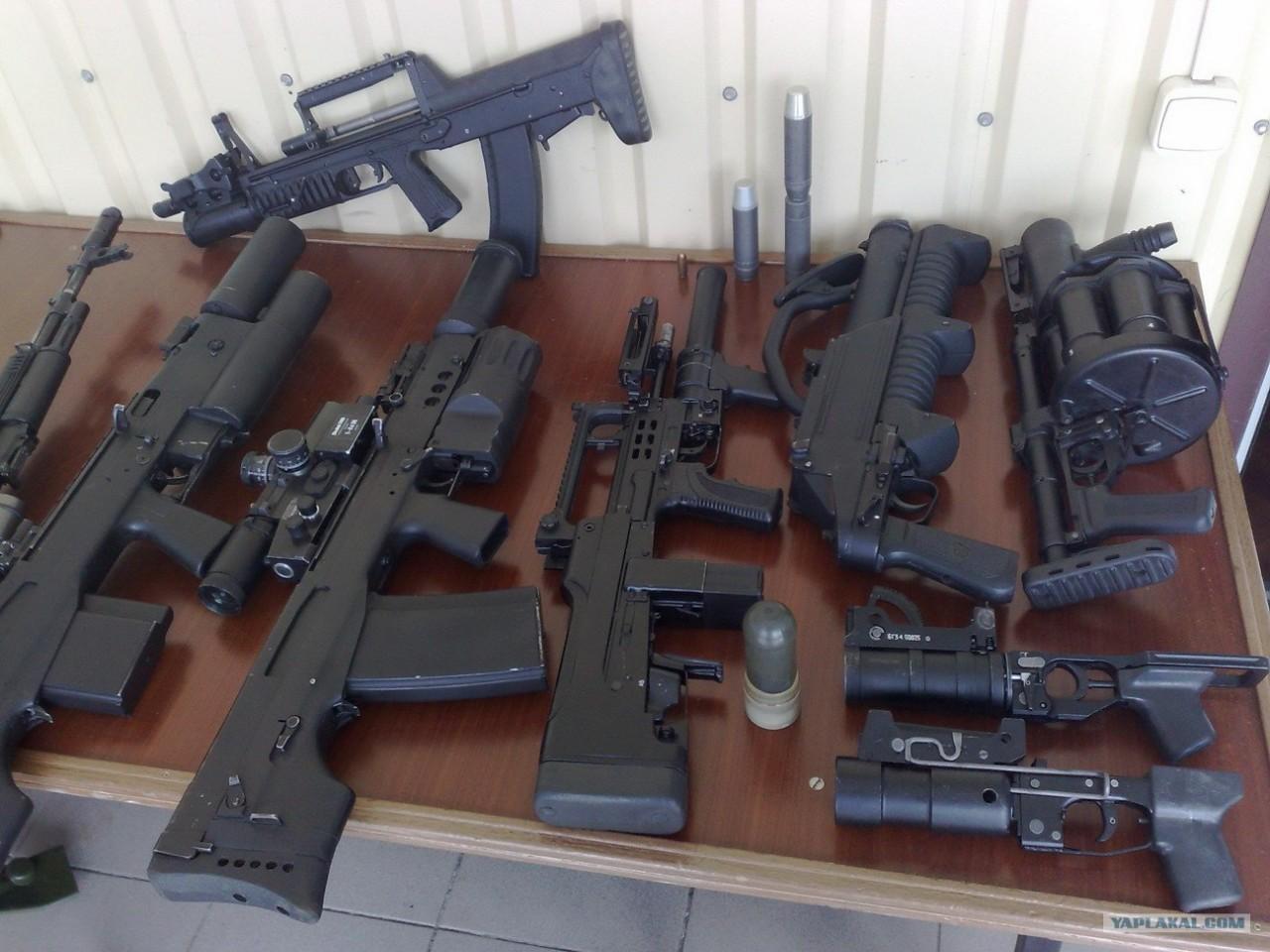 modern russian weapons