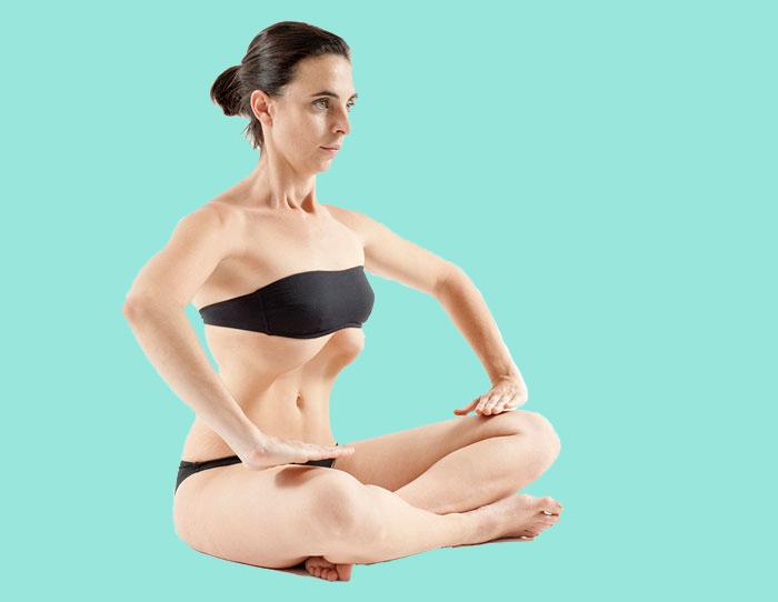 Всего одно дыхательное упражнение избавит Вас от живота!