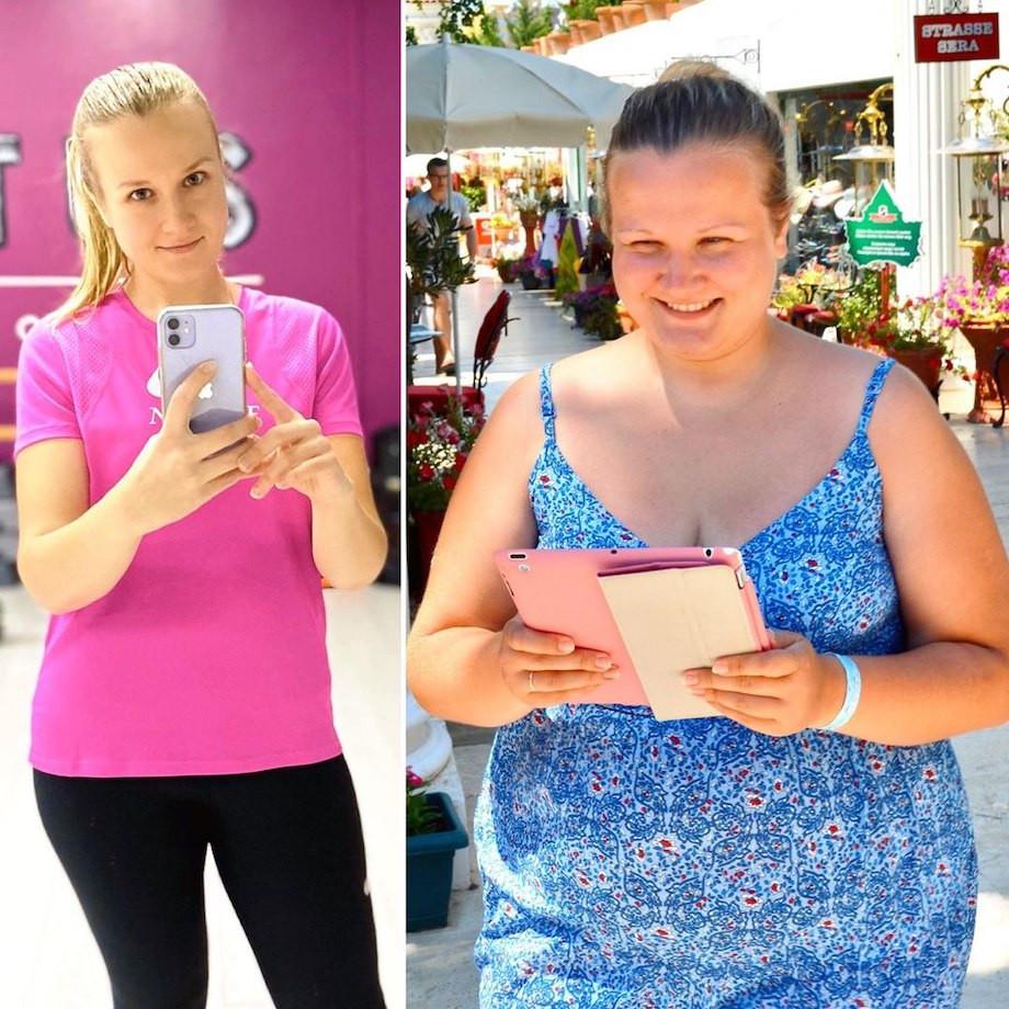 Сильно похудела принимая
