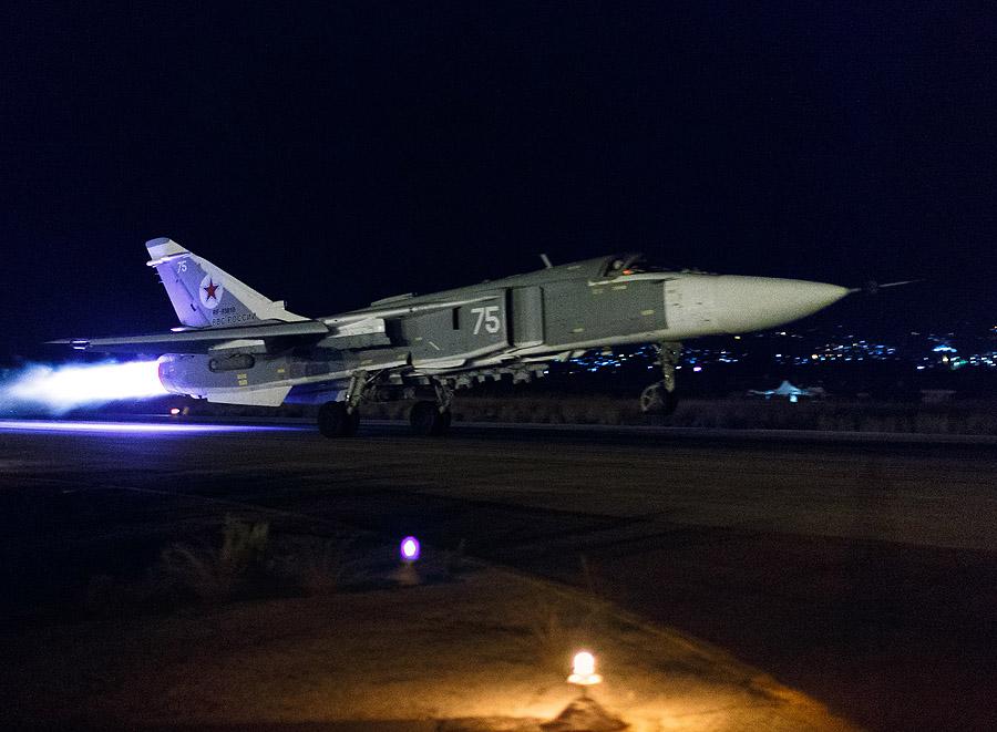 НЛО атаковал летчиков в Сирии