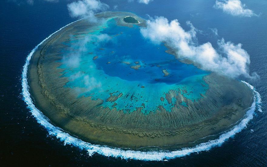 12. Остров Леди Масгрейв, Австралия красота, пейзажи, природа