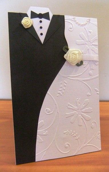 Свадебные открытки. Идеи для вдохновения.