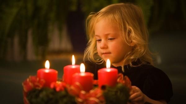 Четыре свечи (притча)