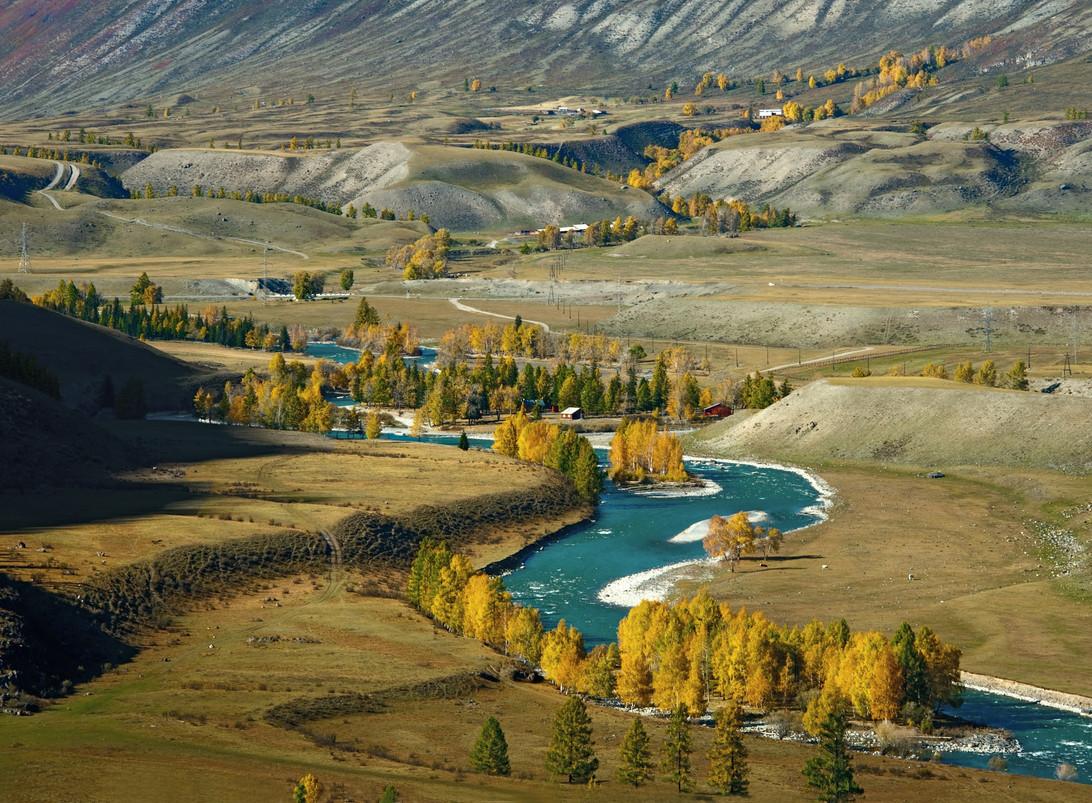 Reka Chuya krasota Altaya 5