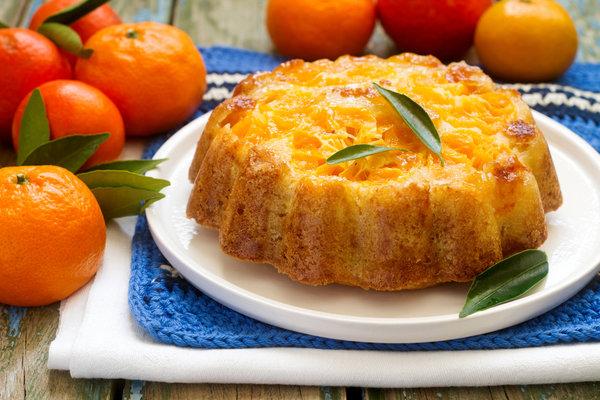 Пироги с мандаринами: рецепты с фото