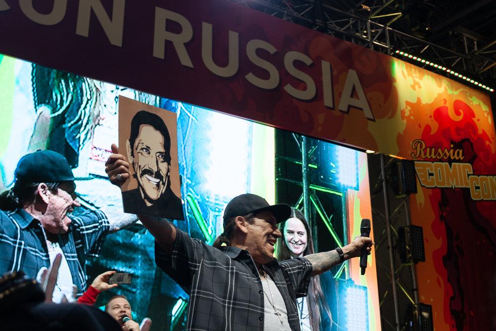 Дэнни Трехо заявил, что не против получить гражданство России