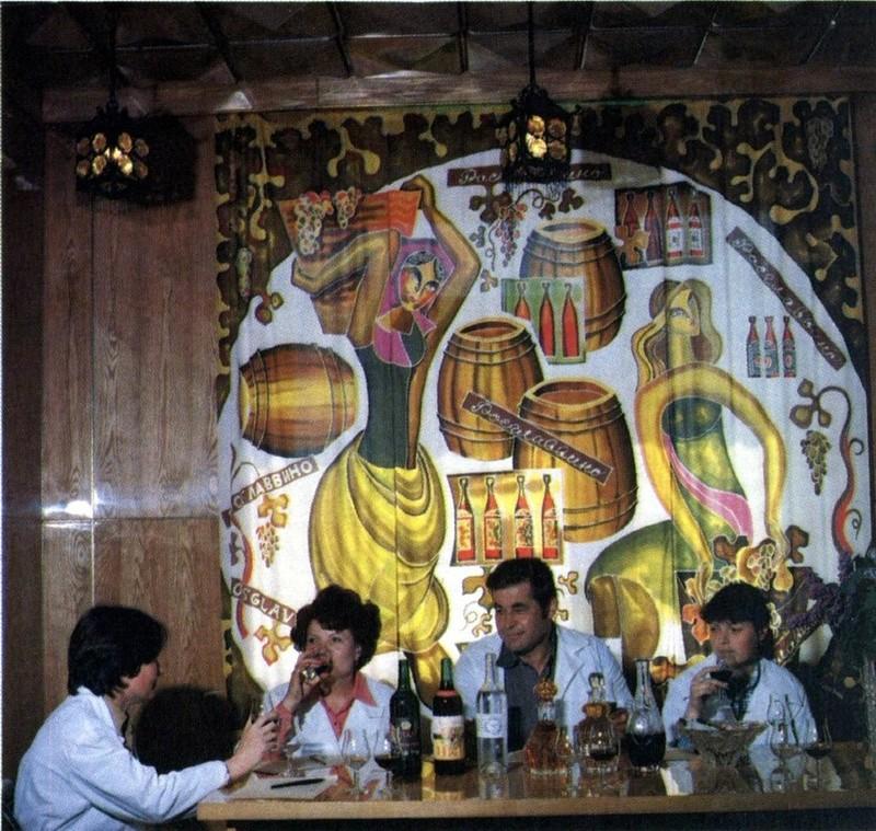 Дегустация вин в Новороссийске, 1980-е: СССР в фото, подборка