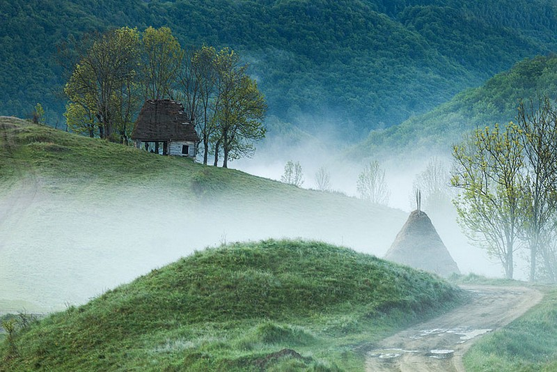 13. Горы Апусени. Румыния.