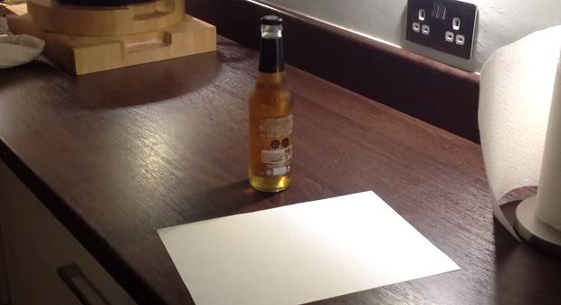 Как открыть бутылку пива с п…