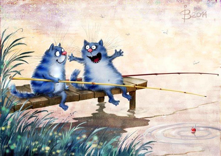 Коты минской художницы Ирины Зенюк