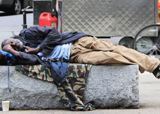 Города с самым большим количеством бездомных