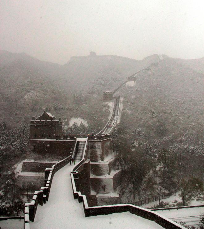 Великая Китайская стена покр…