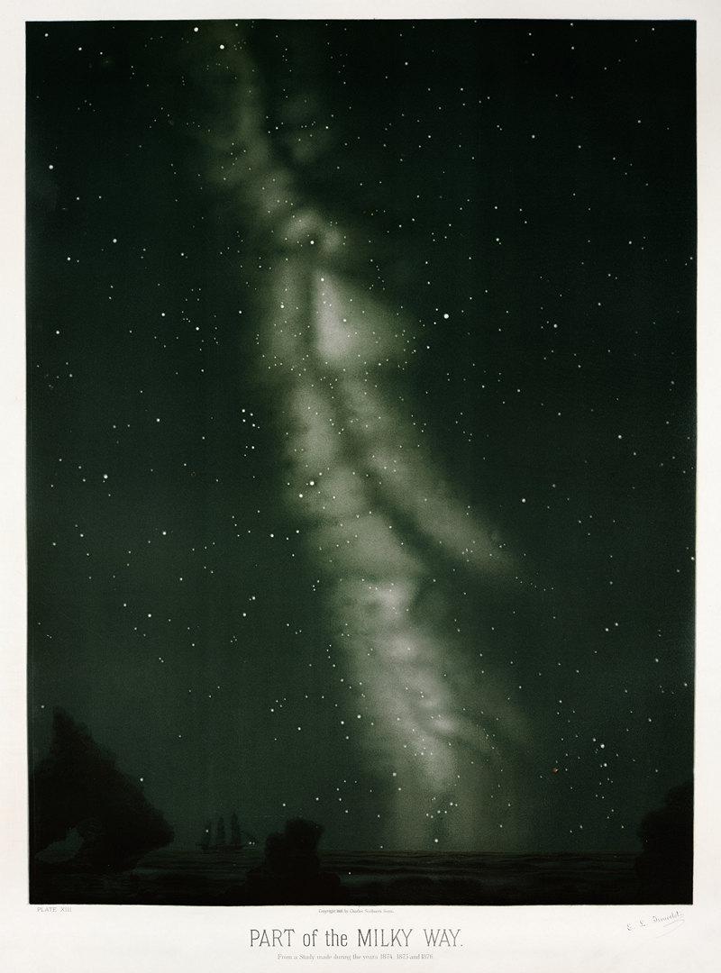 Старинные астрономические рисунки Этьена Трувело 5
