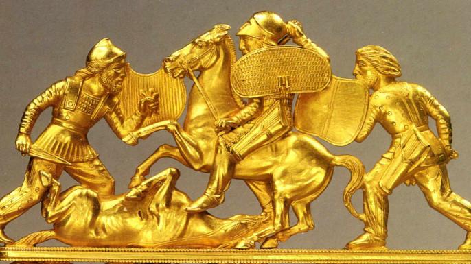 Золото скифов: голландцы опя…