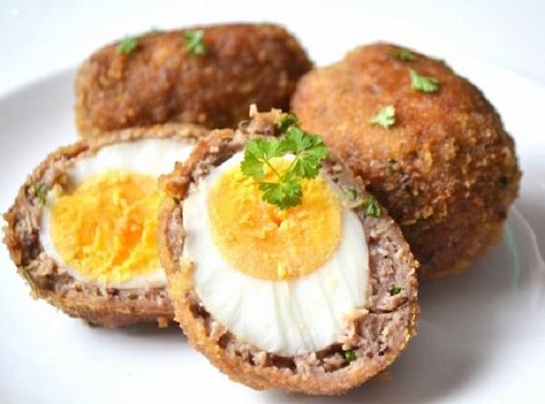 Легендарная закуска - яйца по-шотландски