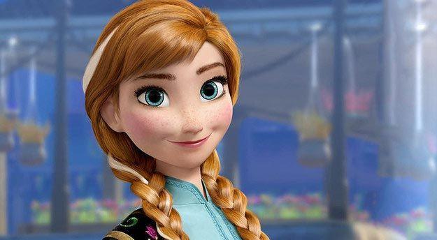 Её сестра Анна девушка, дисней, макияж, превращение