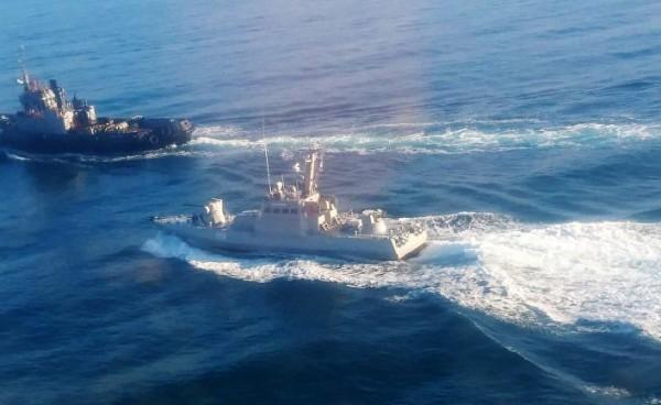 Корабли захватили,стреляли на поражение, но ни одной фотки