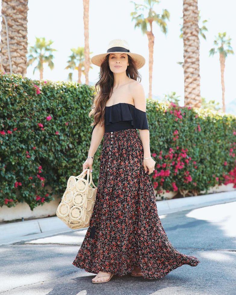 Модные платья макси на лето: 12 потрясающих образов для любой фигуры