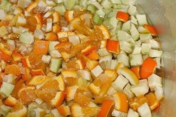 «Янтарное» варенье из кабачков и апельсинов — достойное быть поданным к столу королевы