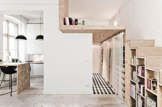Лестница в цветах: серый, светло-серый, бежевый. Лестница в стиле скандинавский стиль.