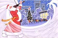 Сказка «Дед Мороз и скрипка»