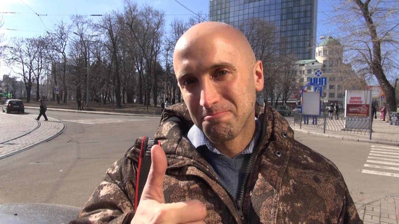 Грэм Филлипс представил свой новый фильм об ополченце Донбасса «Арамис»