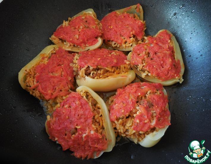 Рецепт: Перцы фаршированные по-анкарински