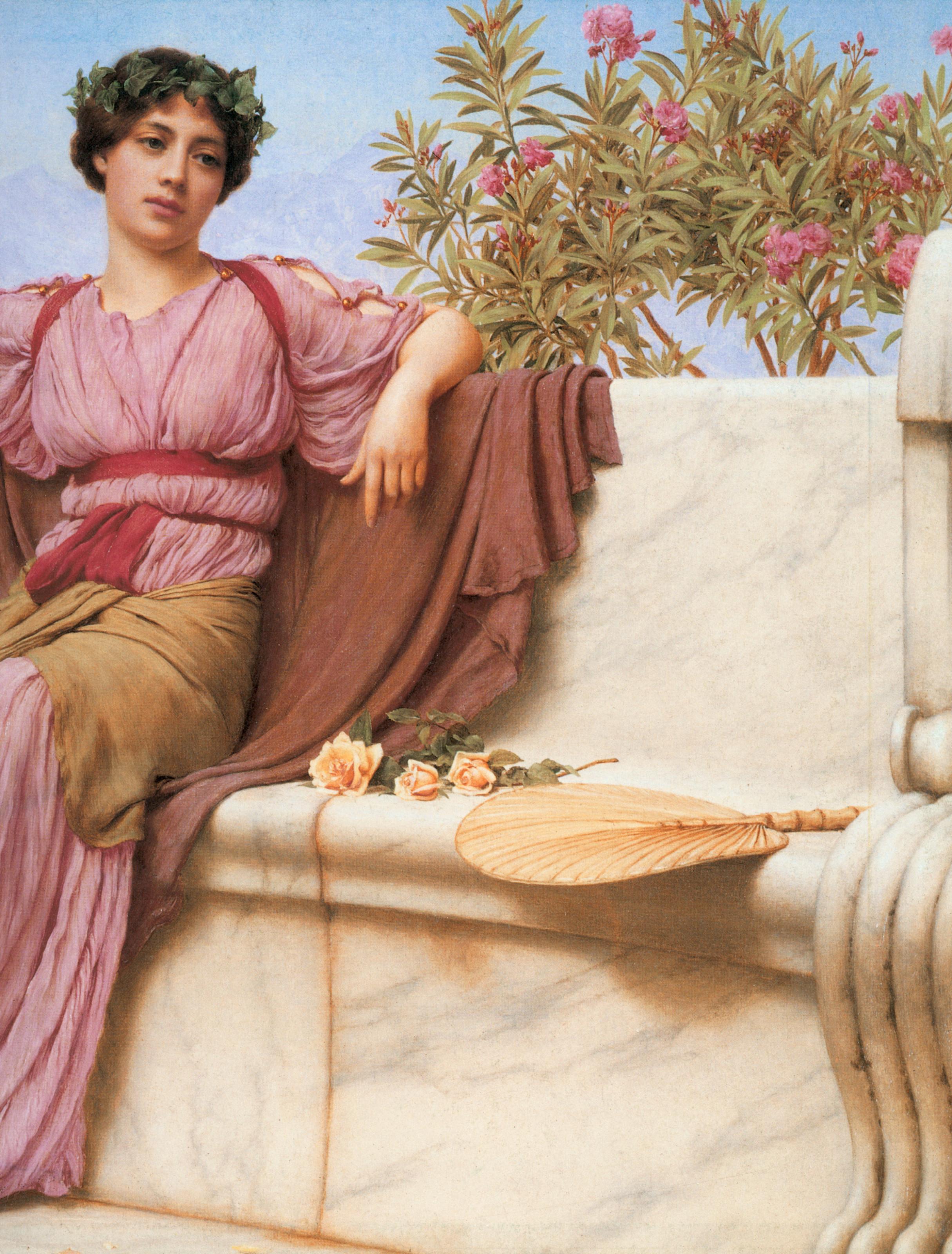 1914_Спокойствие (частная коллекция)_деталь