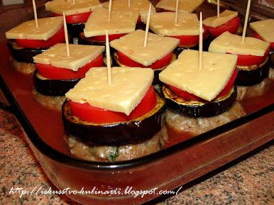 Баклажанный бургер-кебаб (Patlican Burger Kebab)