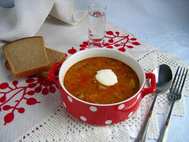 Первые блюда согревают нас в холодное время года