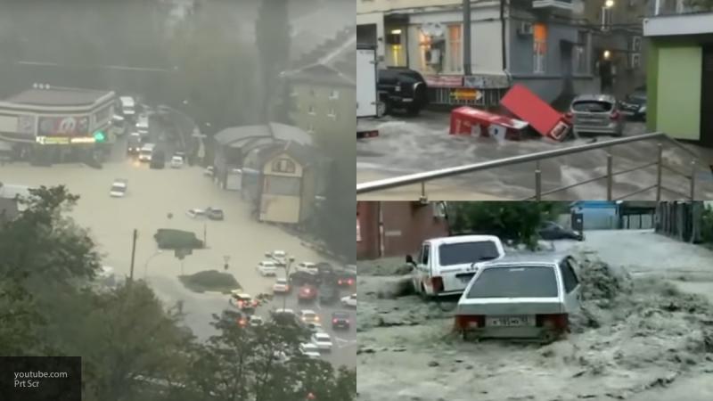 Пушки для просушки домов после наводнения начали выдавать жителям Туапсе