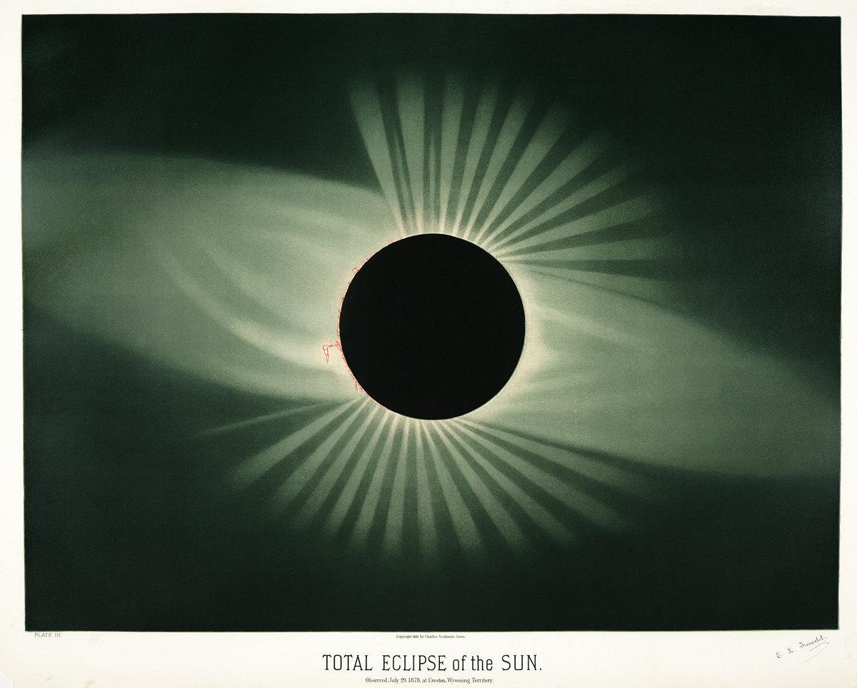 Старинные астрономические рисунки Этьена Трувело 4